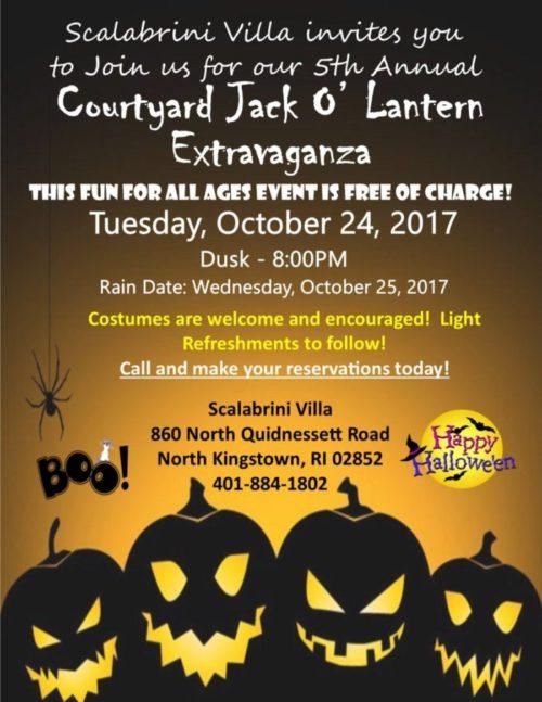 Courtyard Jack O' Lantern Extravaganza