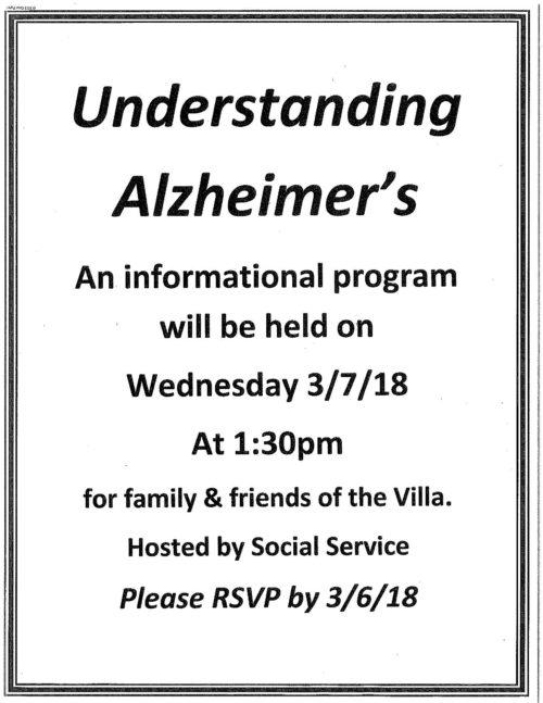 Understanding Alzheimer's