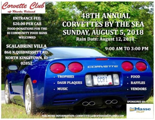 CORVETTES BY THE SEA-AUG 5, 2018